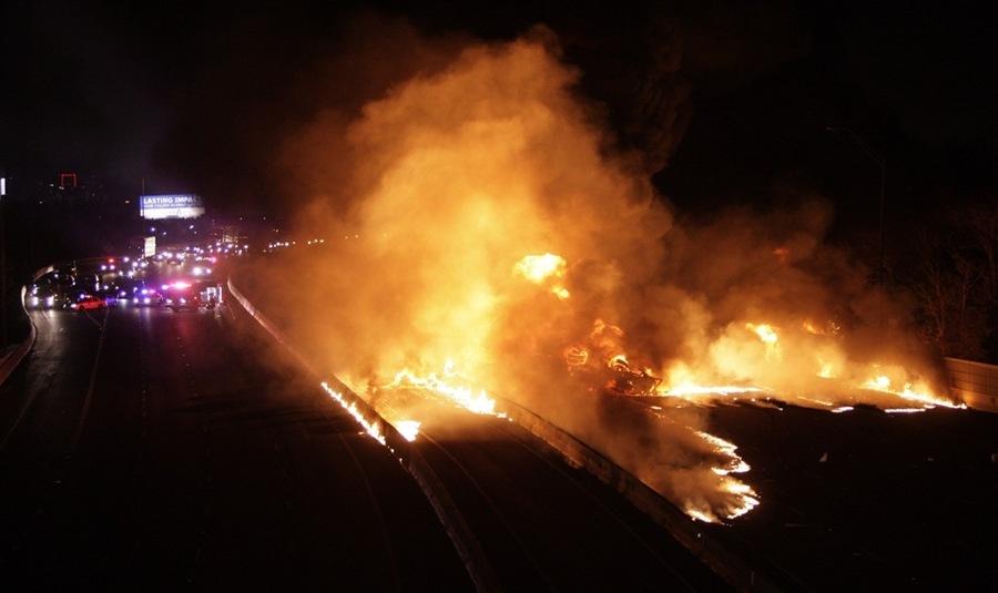 Fire in Dallas